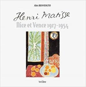Couverture du livre d'Alex Benvenuto où figure le palmier peint par H Matisse aujourd'hui en danger.