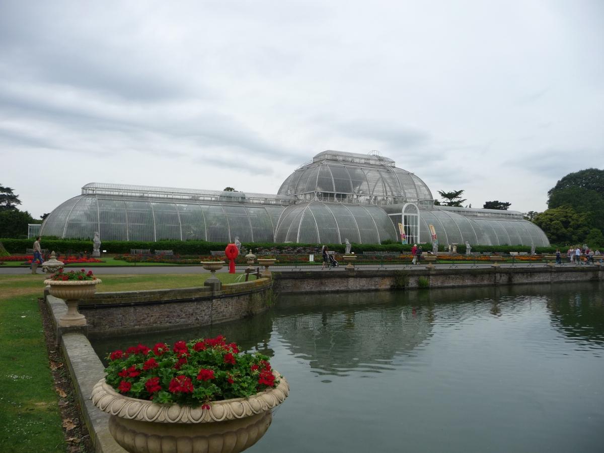 Palm House Kew Botanical Garden LONDON